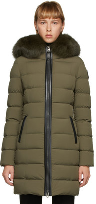 Mackage Khaki Down Calla Coat