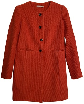 Non Signé / Unsigned Non Signe / Unsigned Orange Wool Coats
