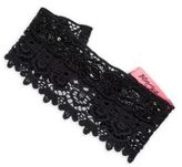 Betsey Johnson Sequined Cotton Head Band