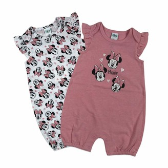 Disney Baby Girl's Minnie Mouse 2Pack Rompers Pants