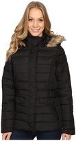 U.S. Polo Assn. Short Puffer Jacket with Fur Hood