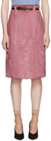 Prada Pink Pony Skirt