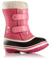 Sorel Baby's 1964 Pac Faux Fur-Cuff Suede Snow Boots