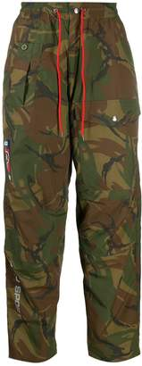Polo Ralph Lauren camouflage-print trousers