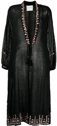 Forte Forte Embellished Semi-Sheer Coat