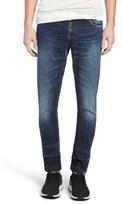Nudie Jeans Skinny Lin Skinny Fit Jeans (Turn Down)