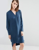 Selected Brooke Tunic Dress in Silk