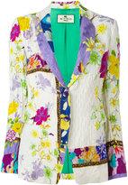 Etro floral print blazer - women - Silk/Viscose - 42