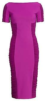 Chiara Boni Women's Dary Illusion Sheath Dress