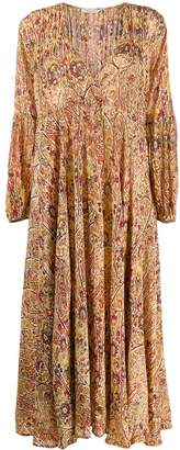 Mes Demoiselles paisley print maxi dress