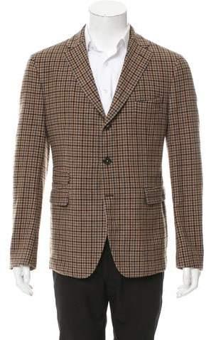 Massimo Alba Virgin Wool Three-Button Blazer w/ Tags