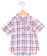 Jacadi Boys' Gingham Button-Up Shirt