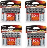 Energizer MAX AA Batteries, Designed to Prevent Damaging Leaks Yrtzxf, 4 Pack(16 count)