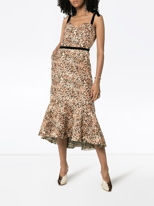 Johanna Ortiz Love Between Species leopard print dress