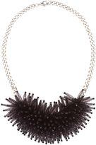 Marella Max oversized beaded neckalce black