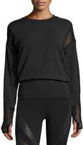 Alo Yoga Formation Long-Sleeve Top, Black