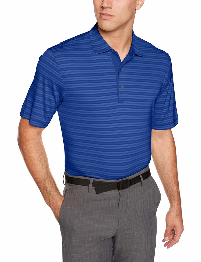 Thumbnail for your product : Greg Norman Men's Ml75 Shadow Stripe Polo Short Sleeve