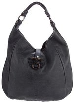 Givenchy Obsedia Embossed Leather Hobo