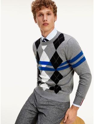 Tommy Hilfiger Argyle Stripe Sweater