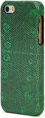 Factory The Case Iguana-effect Leather IPhone 5/5S/SE Case