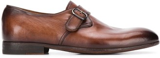 Officine Creative buckle strap monk shoes