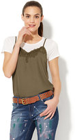 New York & Co. Camisole Twofer