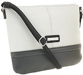Tignanello As Is Pebble Leather Two Tone Crossbody