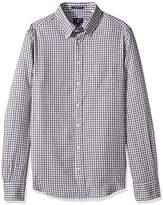 Gant Men's Windblown Oxford Mini Plaid Fitted Button Down Shirt