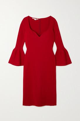 Stella McCartney Stretch-knit Midi Dress - Red