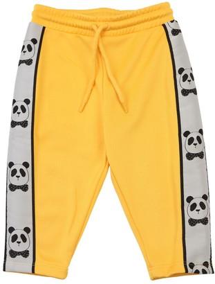 Mini Rodini Sweatpants W/ Panda Side Bands