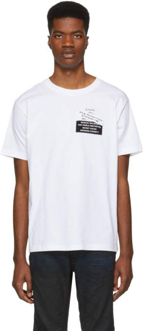 Diesel White T-Wallace-YA T-Shirt