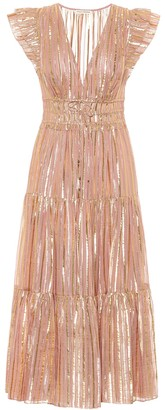 Ulla Johnson Justyne silk-blend midi dress