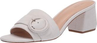 Via Spiga womens V-flor Slides Sandal