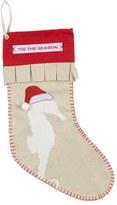 Mud Pie 'Santa Hat' Christmas Stocking
