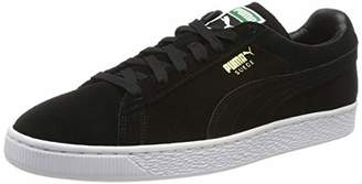 Puma PumaUnisex Adults Low-Top Trainers, black-team gold-white, 6.5 UK
