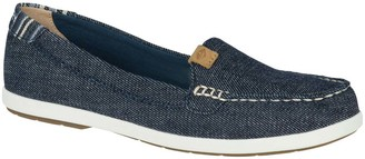 Sperry Top Sider Women's Loafers - Denim Blue Coil Mia Loafer - Women