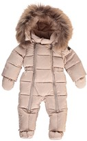 Il Gufo Winter Baby Jumpsuit Hood