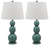 Safavieh Jayne Three Sphere Lamps (Set of 2)