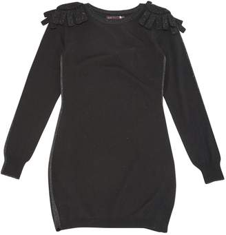 Bella Freud Black Wool Dresses