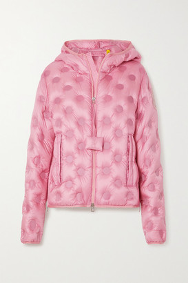 MONCLER GENIUS + 1 Jw Anderson Abbotts Hooded Quilted Shell Down Jacket - Pink