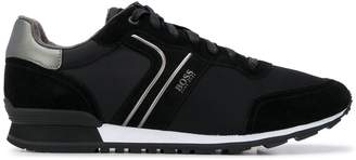 HUGO BOSS Parkour Runn suede sneakers