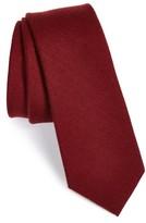 The Tie Bar Men's Wool & Silk Solid Tie
