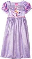 Disney Little Girls' Regal Rapunzel Fantasy Nightgown