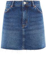 Topshop MOTO Denim Mini Skirt