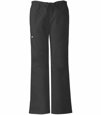 Cherokee Women's Tall Workwear Scrubs Low Rise Draw String Cargo Pant