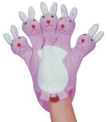 Kingsley Rabbit Terry Wash Glove