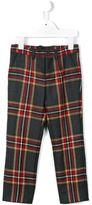 Dolce & Gabbana tartan trousers