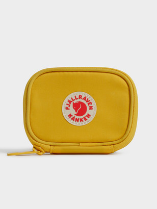 Fjallraven Kanken Card Wallet in Warm Yellow