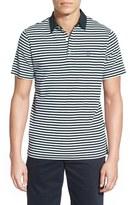 AG Jeans Men's 'Pico' Stripe Pima Cotton Polo