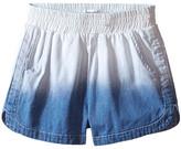 Splendid Littles Bleach Out Denim Shorts (Big Kids)